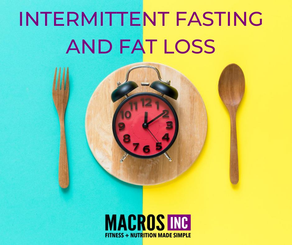 Intermittent Fasting & Fat Loss