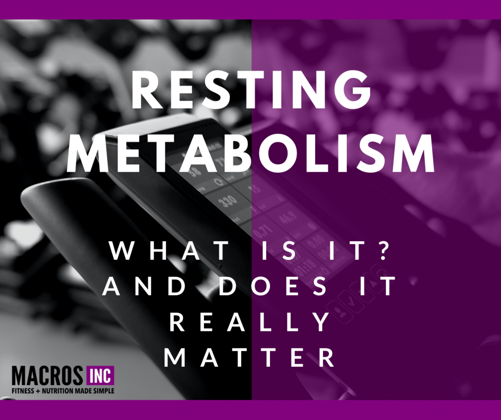 Resting metabolism