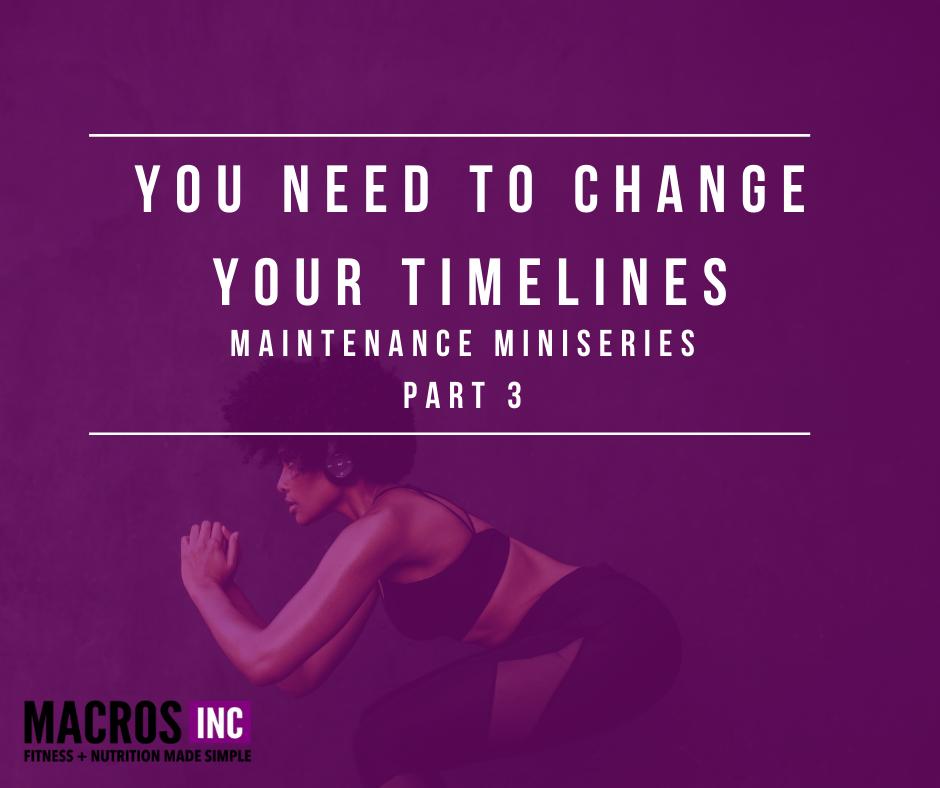 timelines maintenance