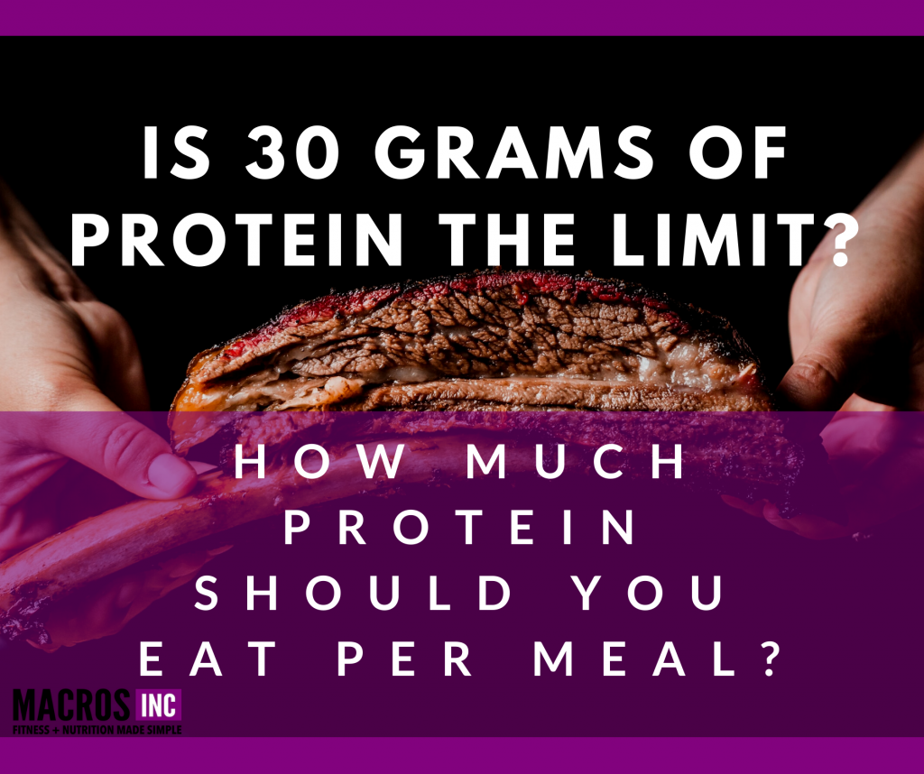 30 grams of protein