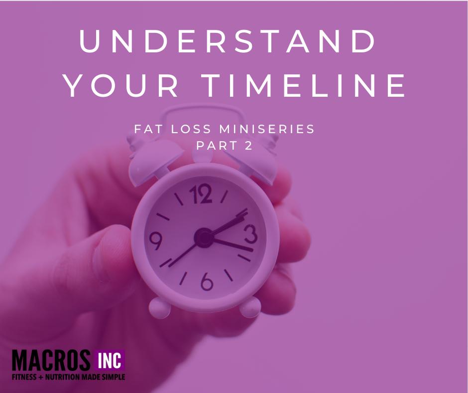 fat loss timeline